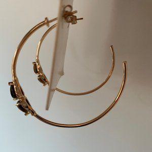 Melanie Auld hoop earrings